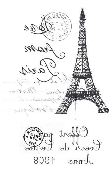 french / Paris / Eiffel tower transfer