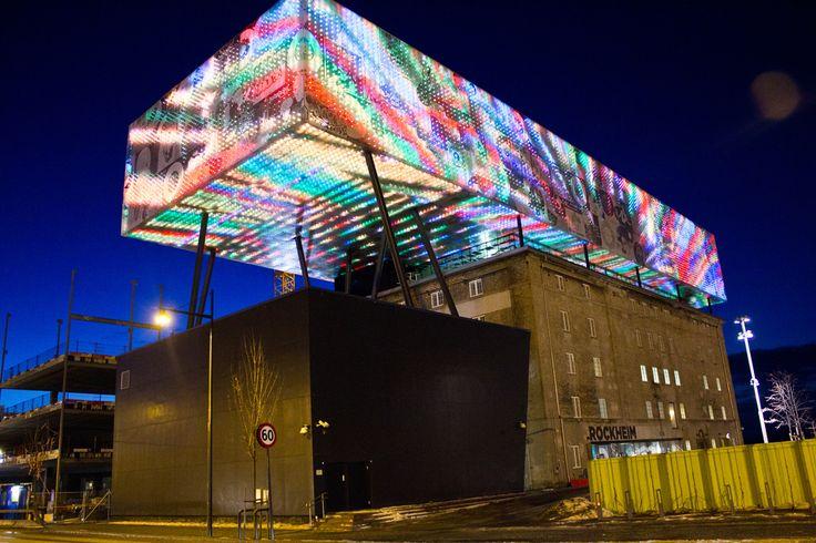 Rockheim 9071 LED Facade   Flickr - Photo Sharing!
