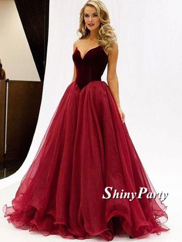 17 Best ideas about Maroon Prom Dress on Pinterest | Long ball ...
