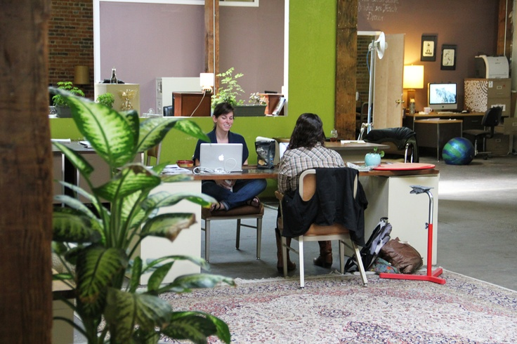 Green Spaces - A Coworking Space in Denver