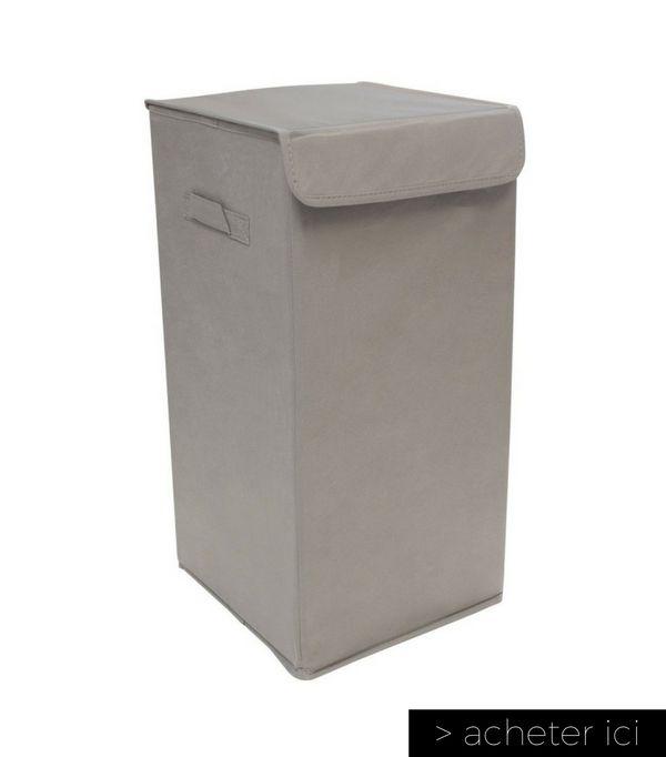 les 25 meilleures id es de la cat gorie panier linge pliable sur pinterest organisation. Black Bedroom Furniture Sets. Home Design Ideas