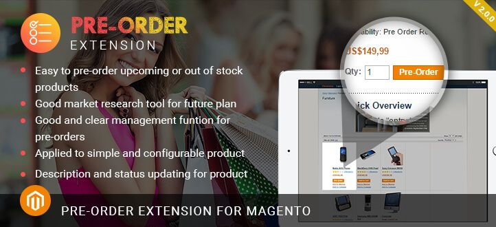 Magento Pre Order Extension Magento Pre Order How To Apply