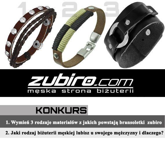 #Konkurs - Wygraj bransoletkę od Zubiro! Szczegóły konkursu http://www.eksmagazyn.pl/moda/dodatki/wygraj-bizuterie-od-zubiro/ || #bizuteria #bransoletka #bransoleta