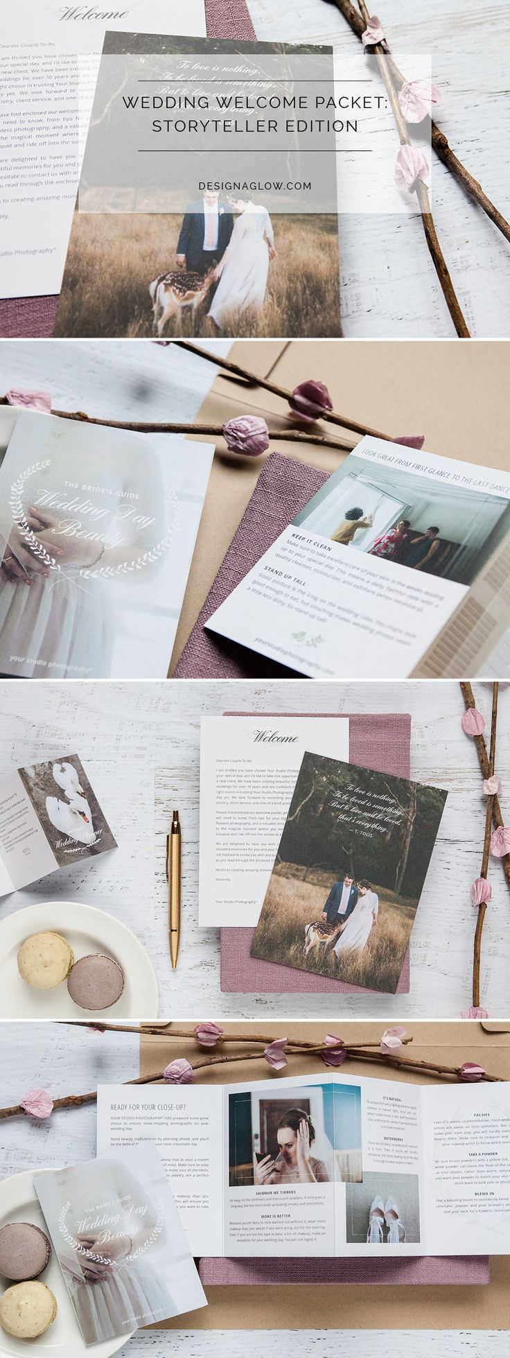 Wedding Welcome Packet: Storyteller Edition
