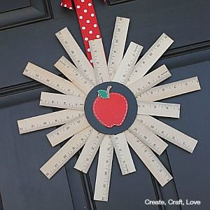 The 36th AVENUE | Back to School Wreath | The 36th AVENUE