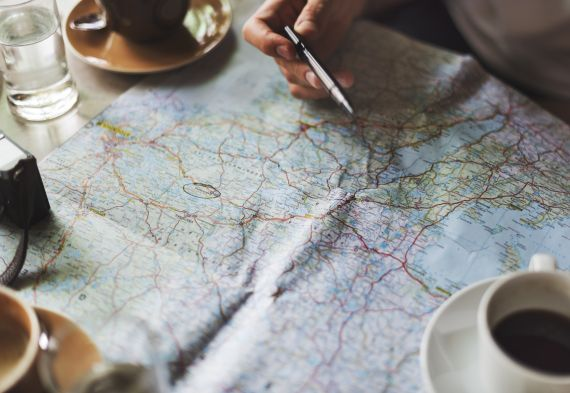 Top Ten Tips For Long Road Trips - Mapped Out Route