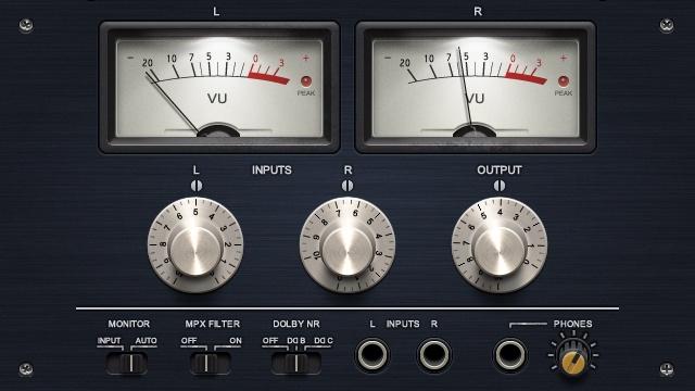Audio equipment UI