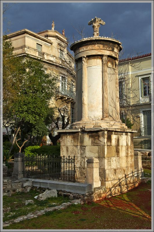 Lysicrates Monument in Plaka, #solebike, #Athens, #e-bike tours