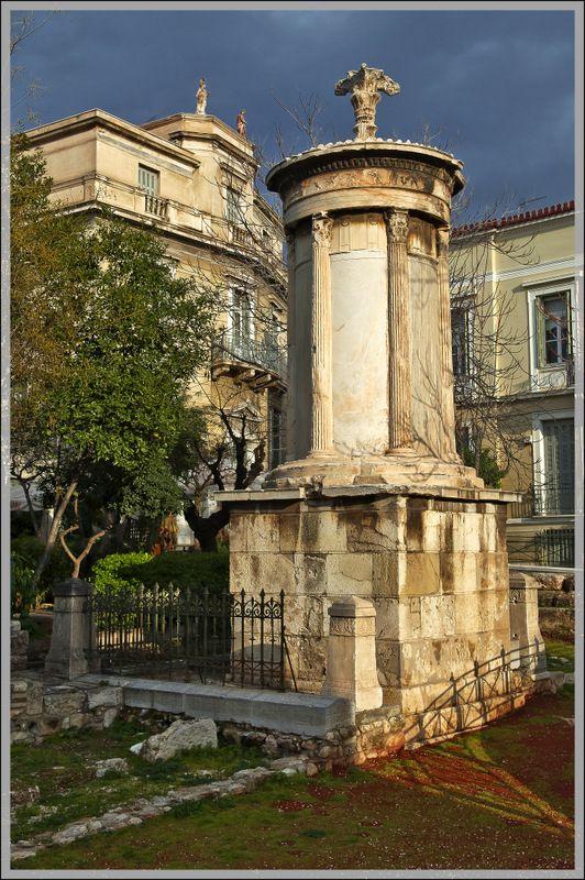 Lysicrates Monument in Plaka, #solebike, #Athens, #e-bike tours