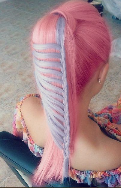 :o pretty. c:French Braids, Hairstyles, Ponytail Braid, Waterfal Braids, Lace Braid, Long Hair, Hair Style, Pony Tails, Ponies Tail