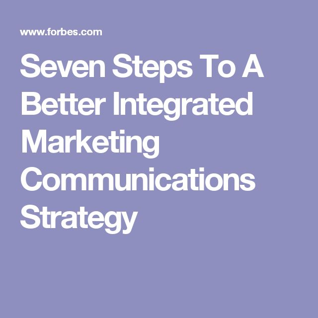 marketing communication strategy