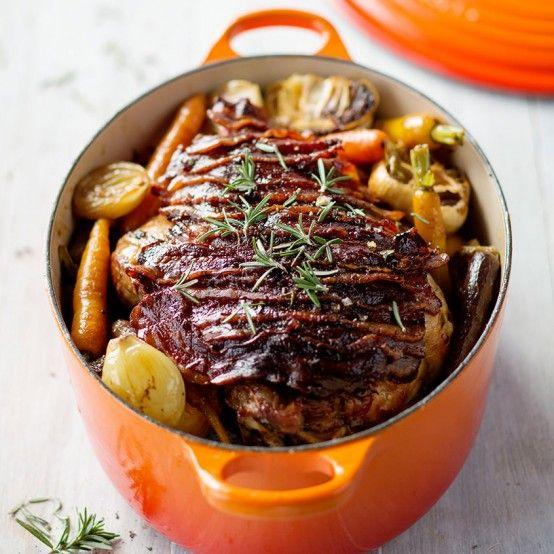 Roast Leg of Lamb with a Mint Sauce - Le Creuset Recipes