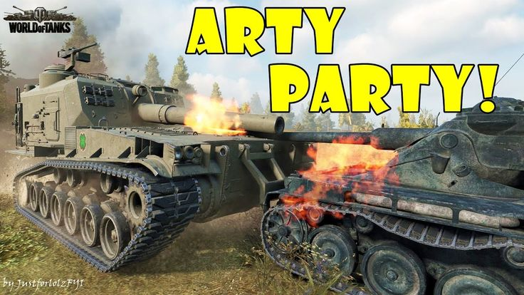 World of Tanks - Funny Moments | ARTY PARTY! #23