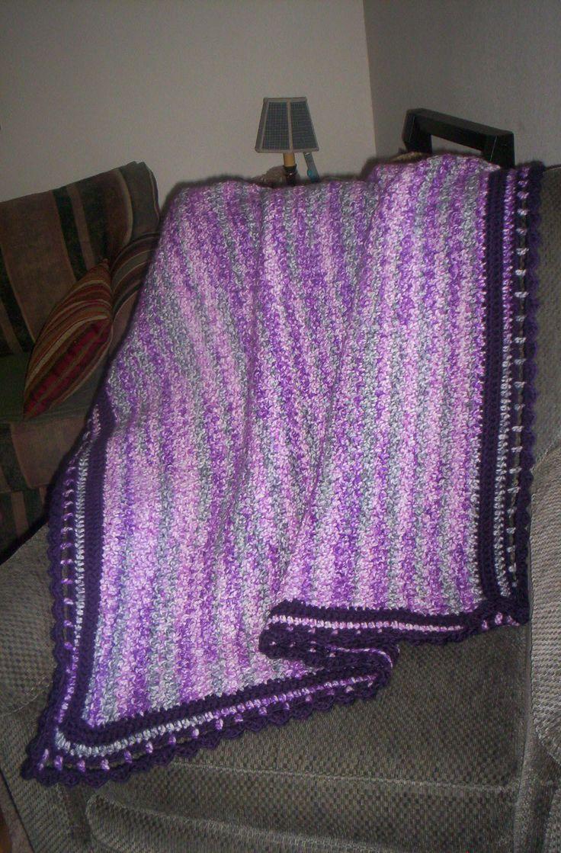 Purple Passion Afghan.