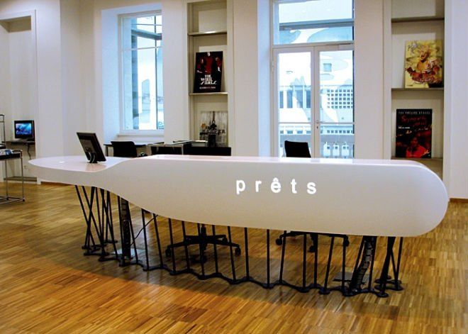 unique reception desks - Google Search