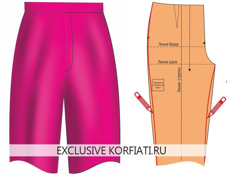 Если брюки сидят не идеально, образуя складки на некоторых участках, портится весь вид изделия. Предлагаем вам разобраться и исправить дефекты посадки брюк.
