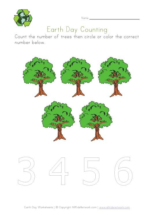 earth day math activities for preschoolers 17 best images about preschool earth day on 736