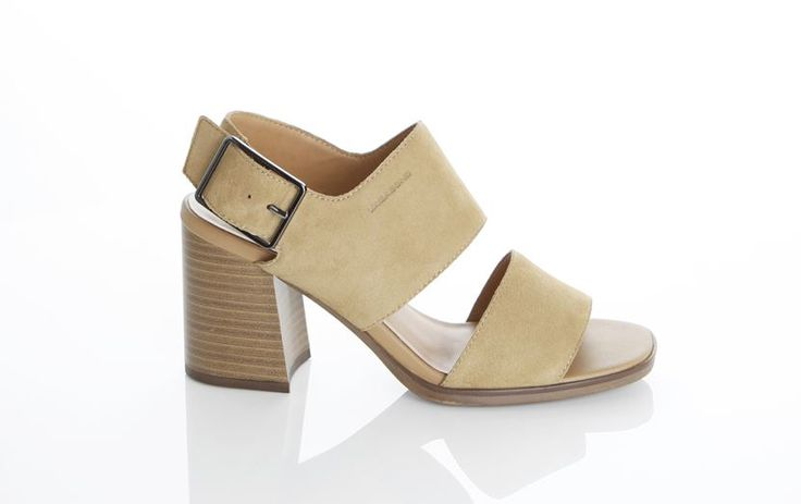 Vagabond - LEA. We just can't get enough of these sandals - the eye-catching heel will elevate any look. Great with everything from cropped trousers to summer dresses, these will fast become your new everyday go-to.