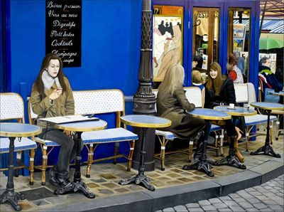 Girls of Montmartre - Matthew Bates