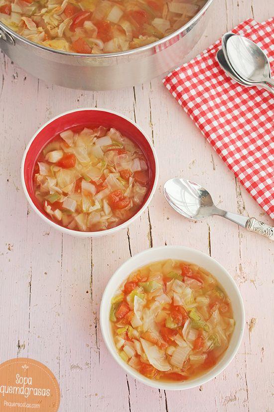 Sopa Quemagrasa de verduras, ¡desintoxicante! , La sopa quemagrasa de verduras es una bomba desintoxicante y llena de vitaminas. Te explicamos paso a paso cómo hacer la receta y la dieta de la sopa.