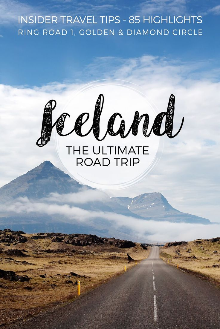 Free Travel Guide Iceland, a complete road book for a self driving roadtrip Icealnd. The ultimate Road Trip along the island. Complete itinerary.