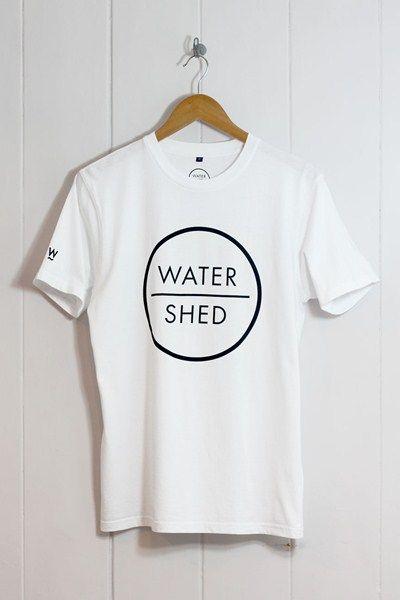 Watershed Logo T-Shirt White main image