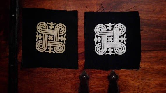 Hannunvaakuna Finnish Symbol Of Good Luck Print Size 8 X 8 Cm Robust Cotton Twill Patch Symbols Cotton Twill Print