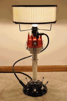 carguygarage.com Billet Aluminum Distributor Lamp