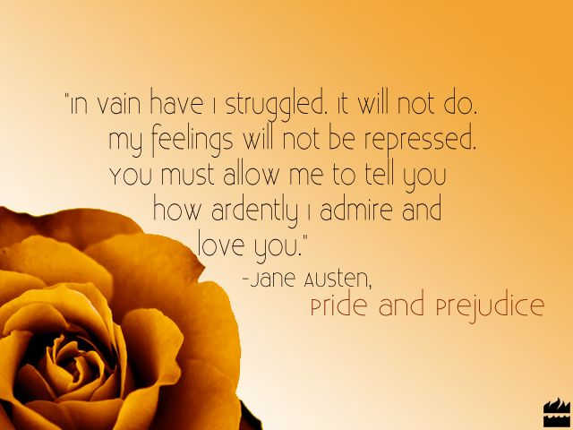 Quotes About Love Jane Austen : quotes about love pride and prejudice quotes tattoo ideas jane austen ...