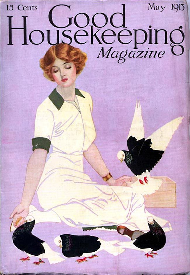 coles phillips: Housekeeping Magazines, Housekeeping Covers, Phillip Illustration, Cole Phillip, Phillip Art, Coles Phillips, Covers Art, Magazines Covers, Housekeeping 1913