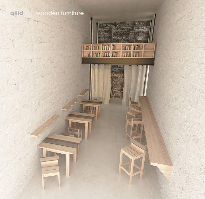 Design Concept โปรเจคร้าน Minimal Cafe Architecture