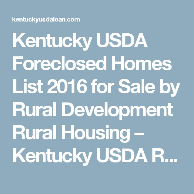 1000 ideas about foreclosed homes on pinterest foreclosed homes for sale buying foreclosed - Usda rural housing development ideas ...