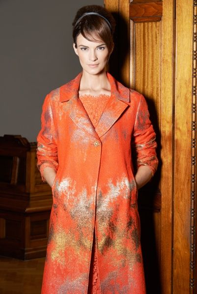 Louise Kennedy - Collection Ava Amber/Gold Coat