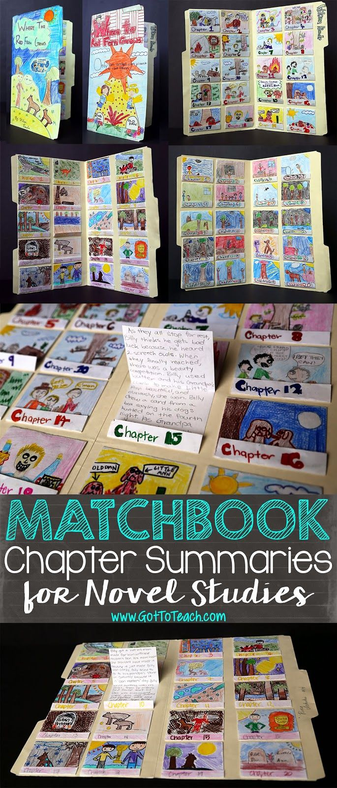 Matchbook Chapter Summaries for Novel Studies