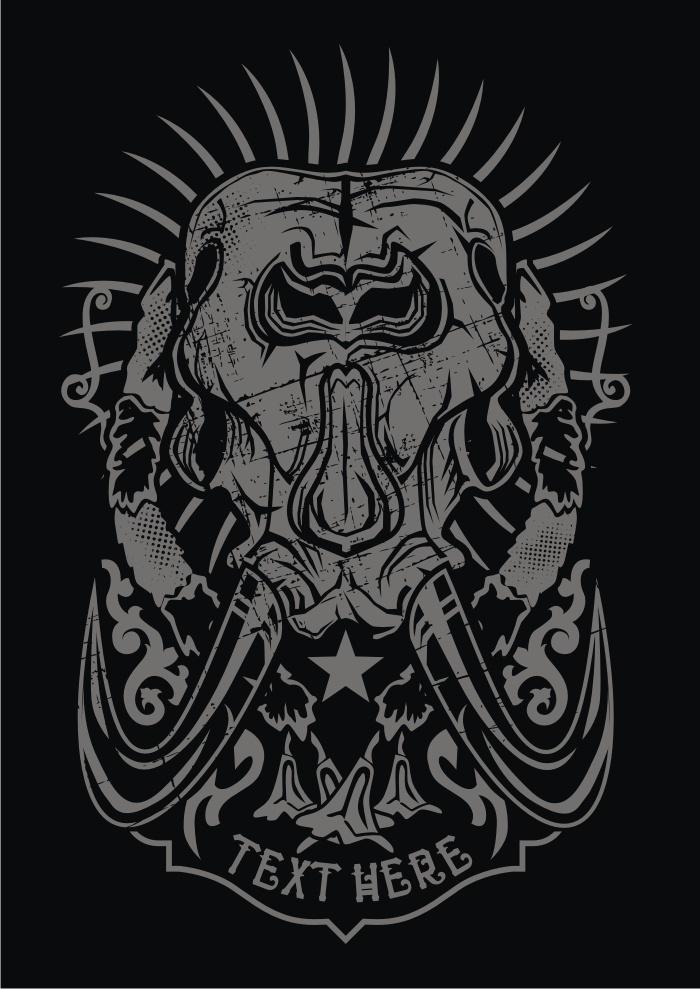 Elephant Skull