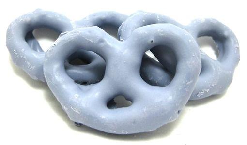 Blueberry Yogurt Pretzels