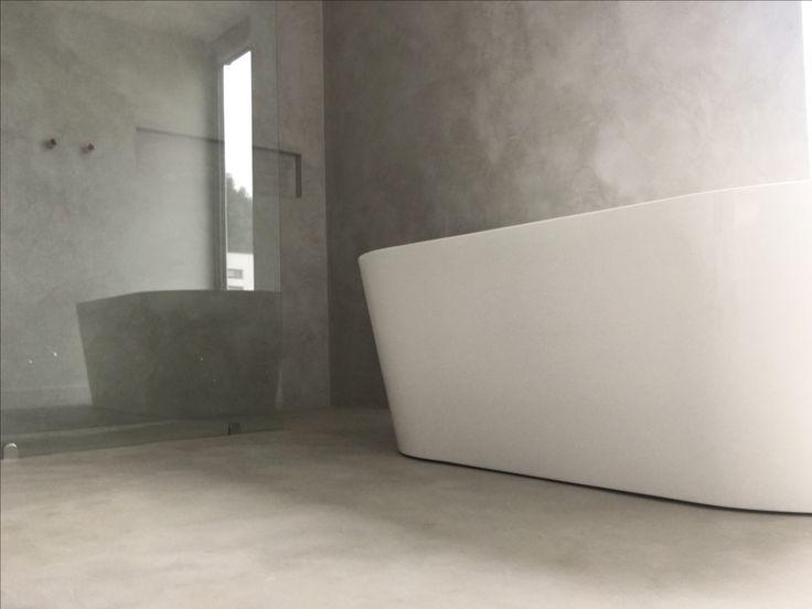 25 beste idee n over badkamer vloer op pinterest badkamers en grijswitte badkamers - Badkamer vloer ...