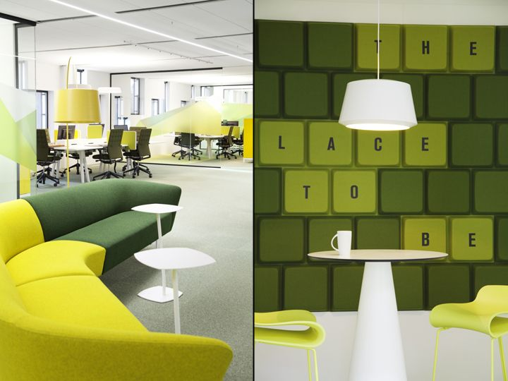 Atea Office By Monica Stavem Design Fredrikstad Norway