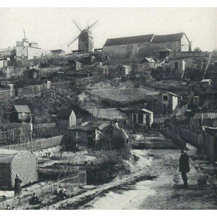 istoricheskie_foto                    Монмартр. Париж. 1890 г.