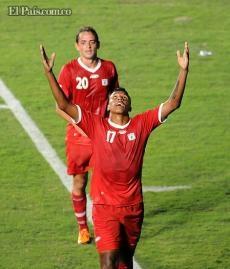 América de Cali venció a Universidad de San Martín en su presentación oficial.  Con gol de Paulo César Arango, los Diablos Rojos se presentaron con triunfo ante su hinchada para afrontar la temporada 2013.  Enero 26, 2013
