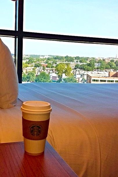 Good Morning from Hyatt Place DC! Wake up and run downstairs to grab your morning brew from Starbucks.