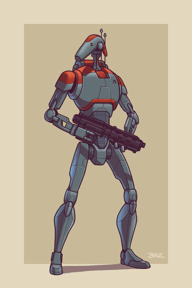 Upgraded B1 Battle Droid By Blazbaros Star Wars Characters Pictures Star Wars Pictures Star Wars Images