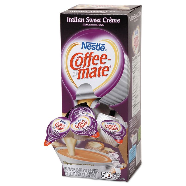 Coffeemate liquid coffee creamer italian sweet creme 0