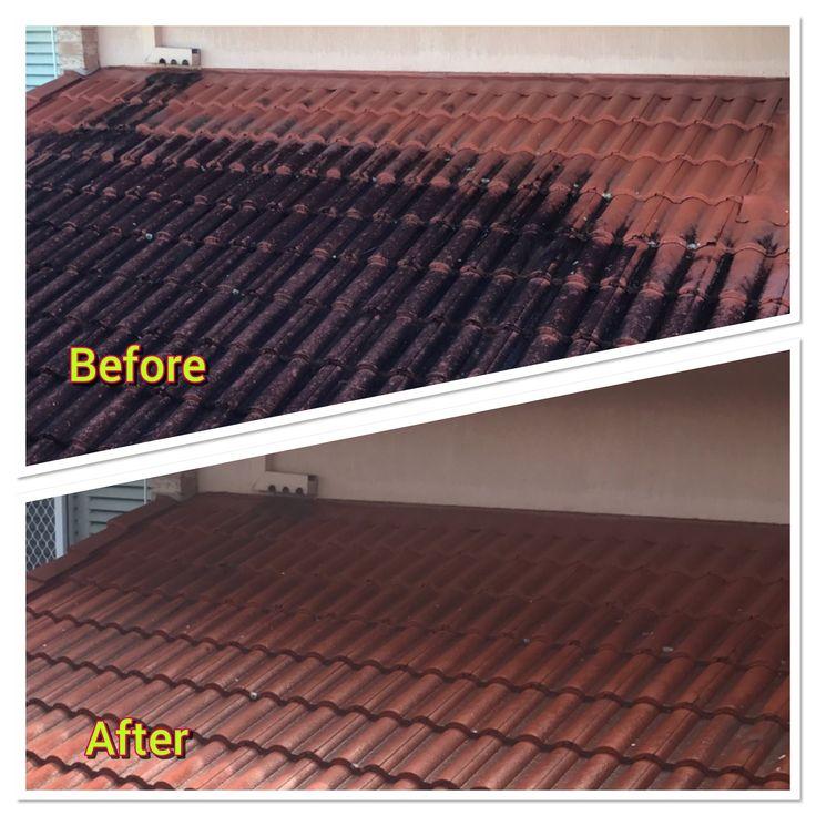 Roof cleaning Brisbane by www.waterworxpressurecleaning.com.au