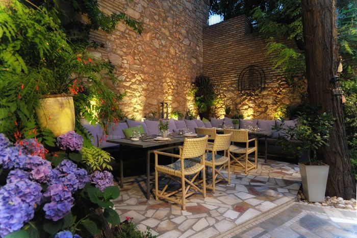 Romance, adventure, passion!! - check out the lighting! We can help you do something similar for your patio at outdoorledco.com