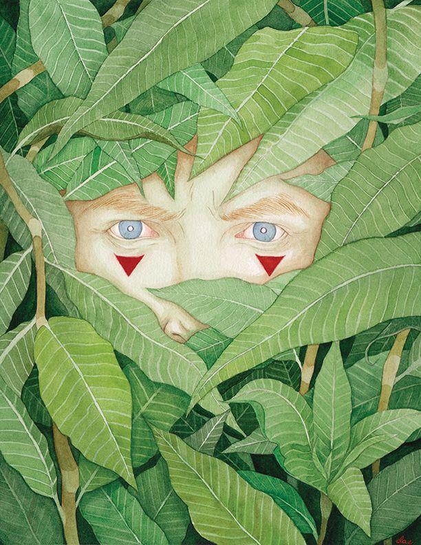 Spy - Delia Evin Illustration
