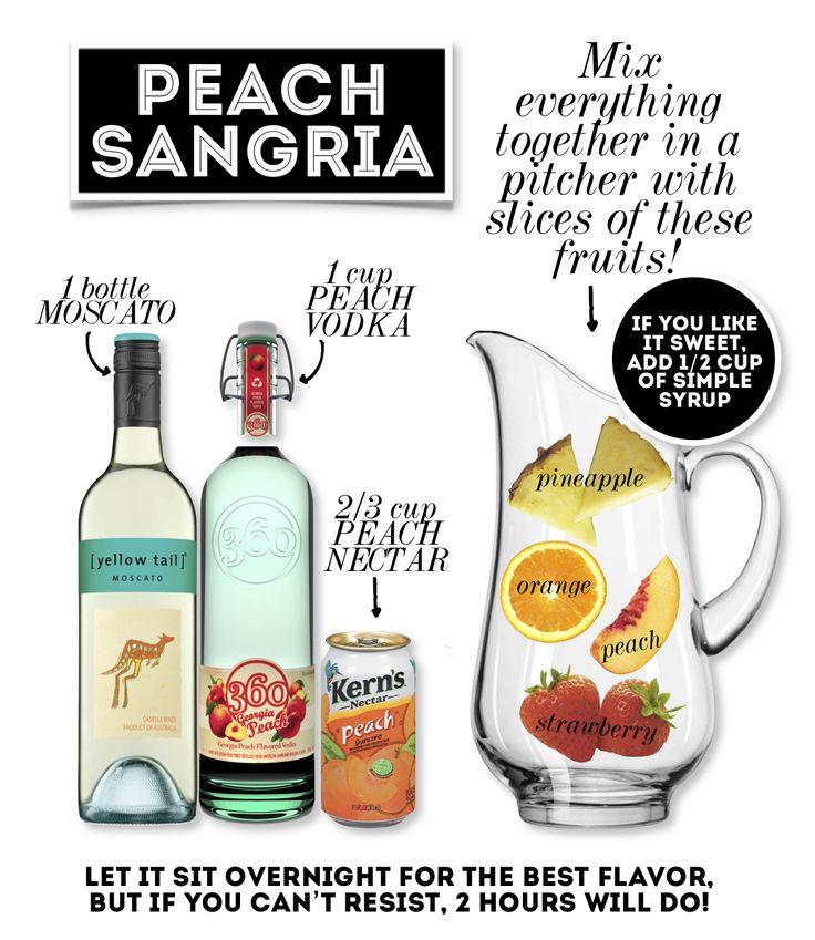 This Bytes: Peach Sangria Recipe | San Antonio Current — Blogs