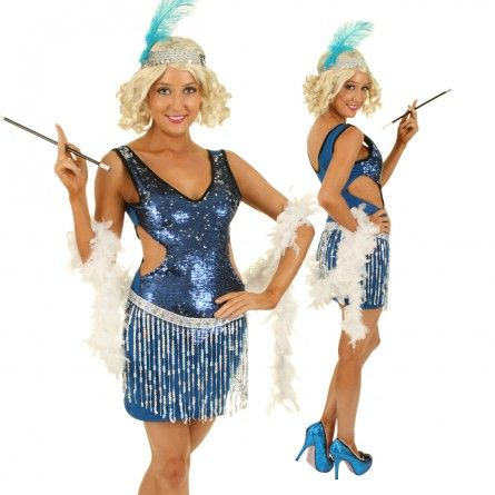 Womens Sexy Flapper Costume
