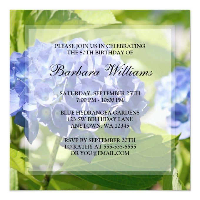 1432 best 80th Birthday Invitations images – Birthday Card Invitations Online