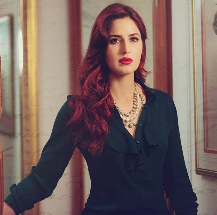 Katrina kaif is Red hair for Fitoor.